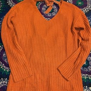 Charlotte Russe wrap back sweater
